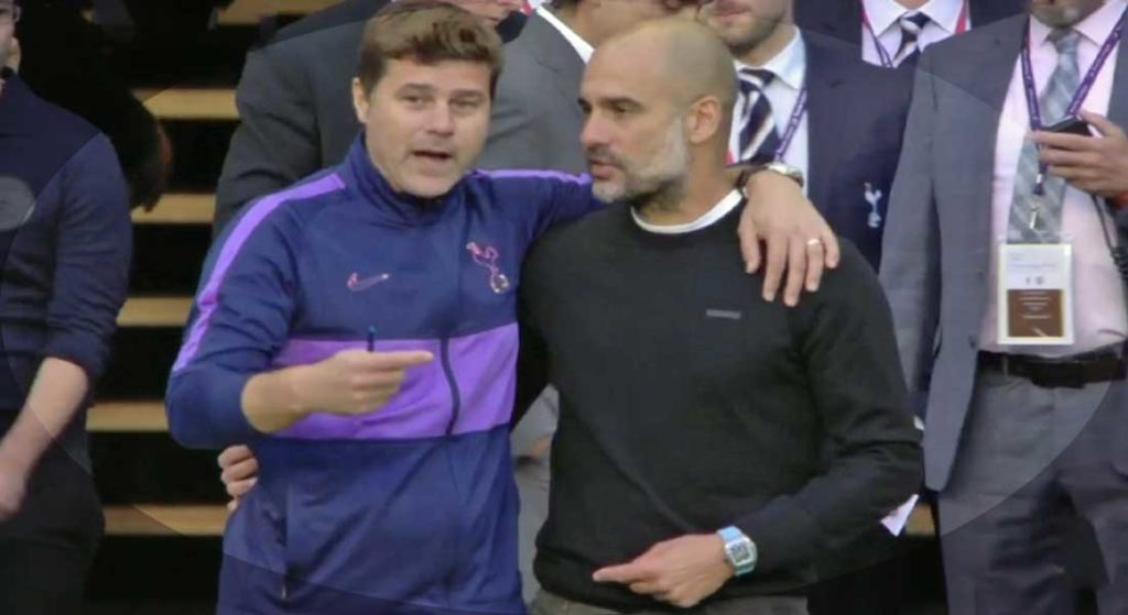 PL : Manchester City 2 – Tottenham 2