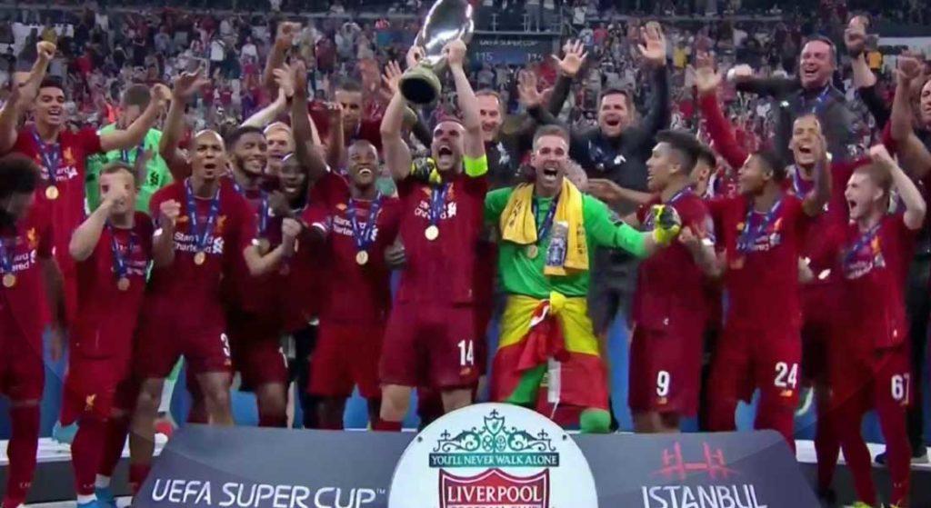 Super coupe d'Europe : Liverpool 2 – Chelsea 2, Liverpool l'emporte grâce aux tab 5-4