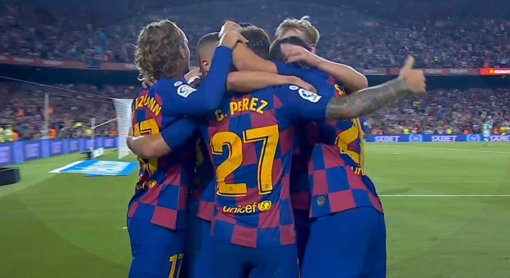 Liga : FC Barcelone 5 – Mallorca 2