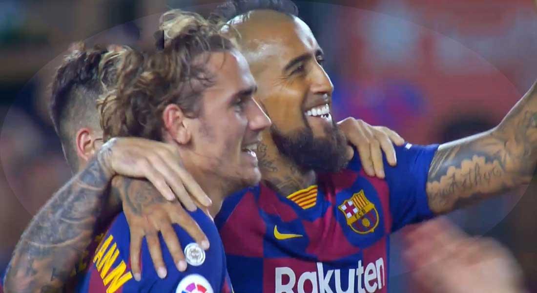 Liga : FC Barcelone 5 – Betis Seville 2 , Griezmann puissance 2, vidéo