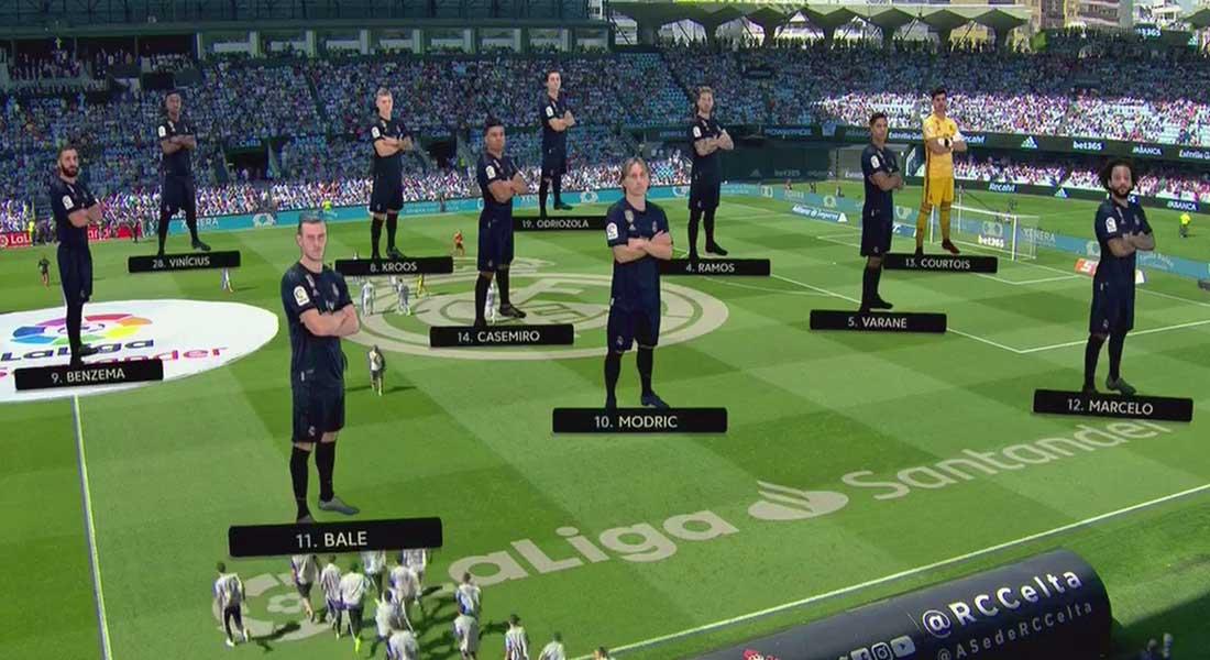 Liga : Le Real Madrid démarre bien grâce à sa victoire face au Celta Vigo 3-1