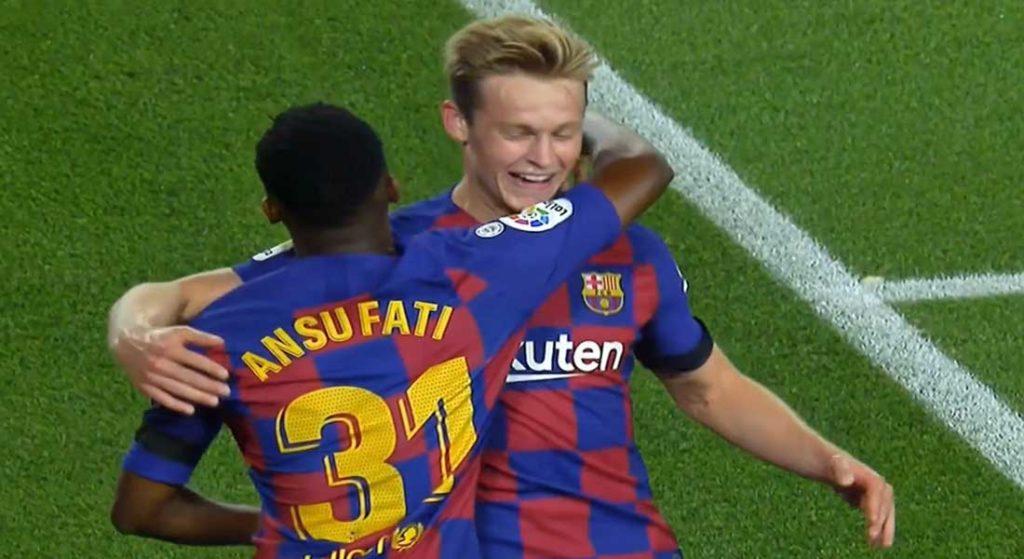 Espagne : FCBarcelone 5 – FCValence 2