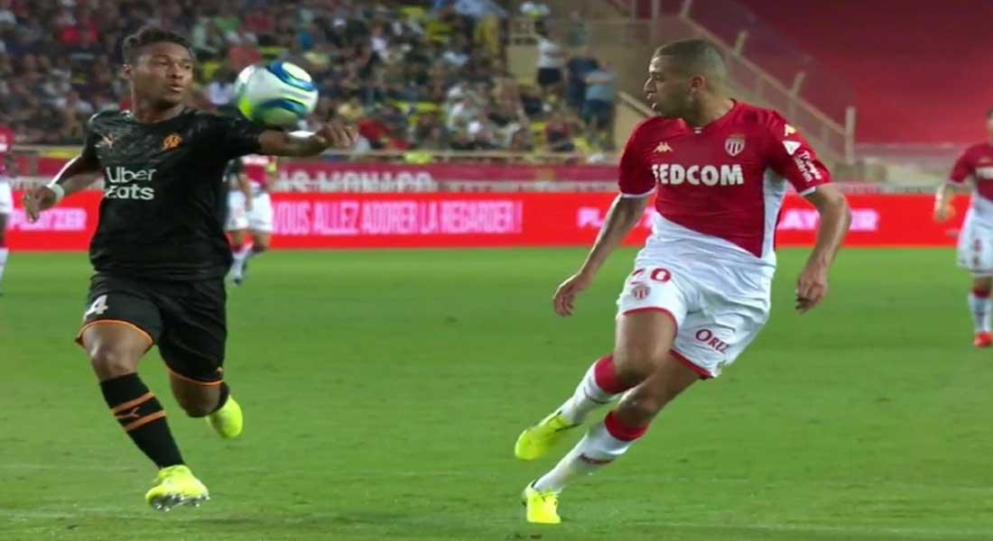Ligue 1 : Monaco 4 – Brest 1, Le grand match d'Islam Slimani, vidéo