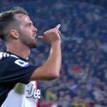Calcio : La Juventus domine Bologne 2-1 et garde les commandes, vidéo