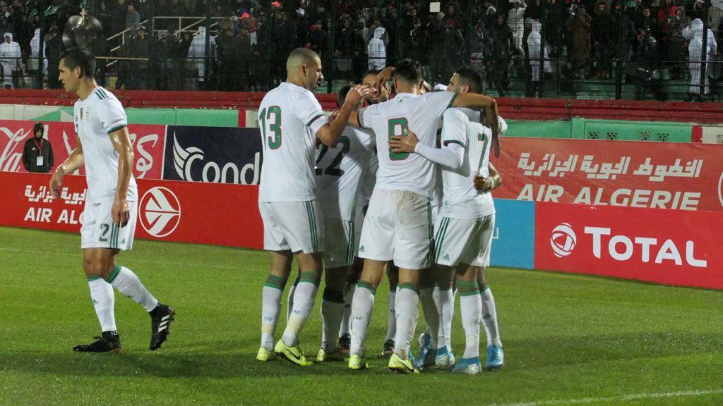 Eliminatoires CAN 2020 : Algérie 5 – Zambie 0