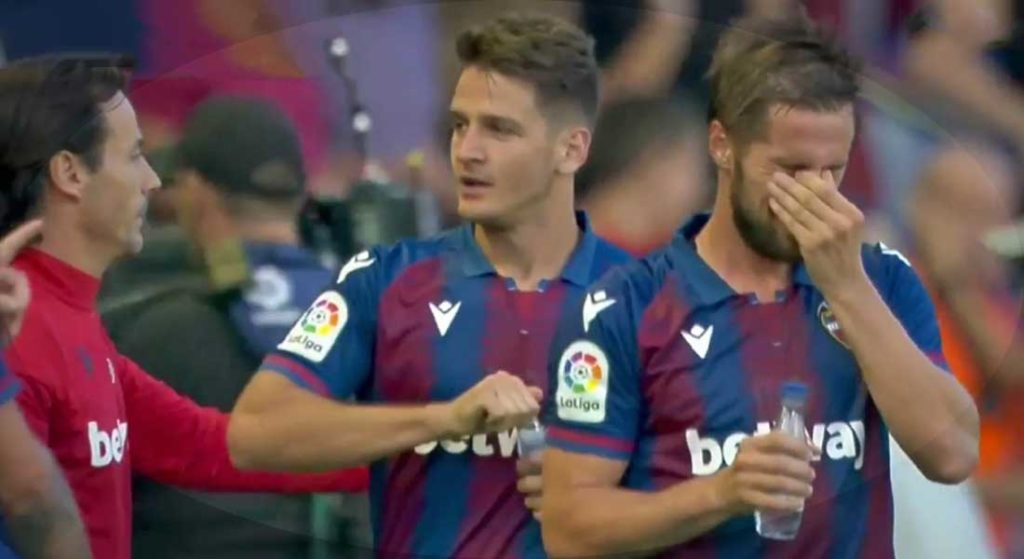 Liga : Levante 3 – FC Barcelone 1  – images : Beinsports