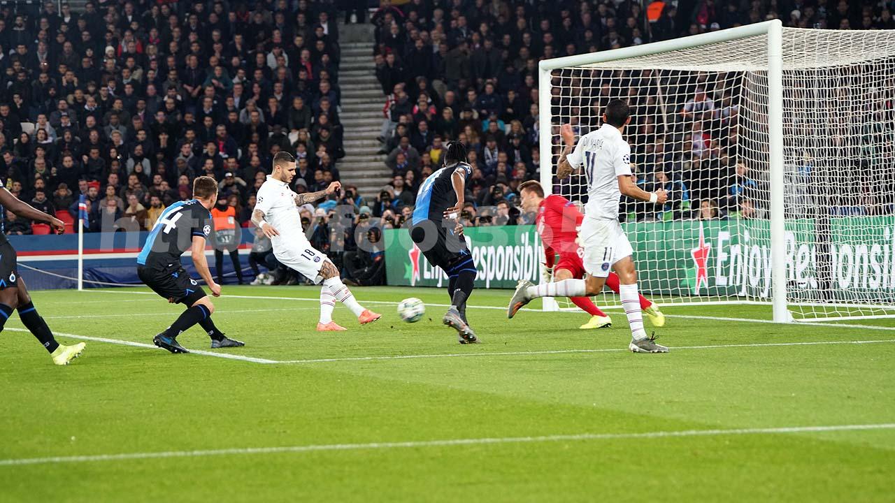 C1 : Les images du match PSG – FC Bruges – Album 1