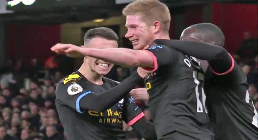 Premier League : Tottenham 2 – Manchester City 0