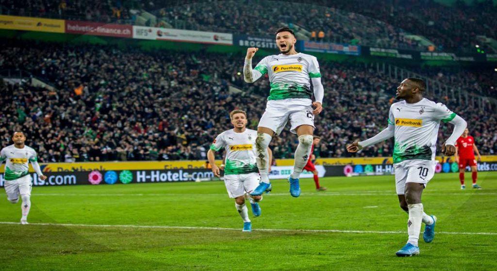 Bundesliga : Borussia Mönchengladbach 2 – Bayern Munich 1
