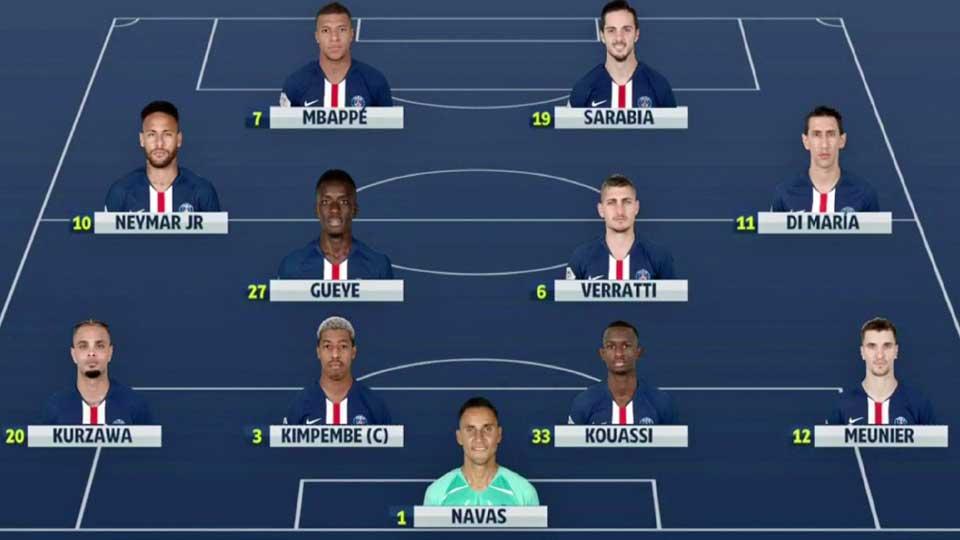 Vidéo Coupe de France : Lyon 1 – PSG 5 , avec un triplé de Kylian Mbappé