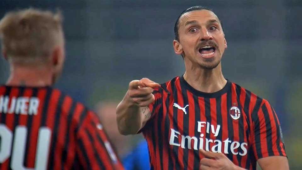 Calcio : Inter Milan 4 – Milan AC 2