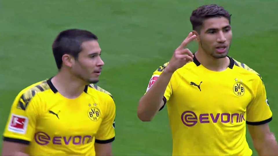 Vidéo Allemagne : Le Borussia Dortmund s'offre Schalke 04 sur le score de 4-0