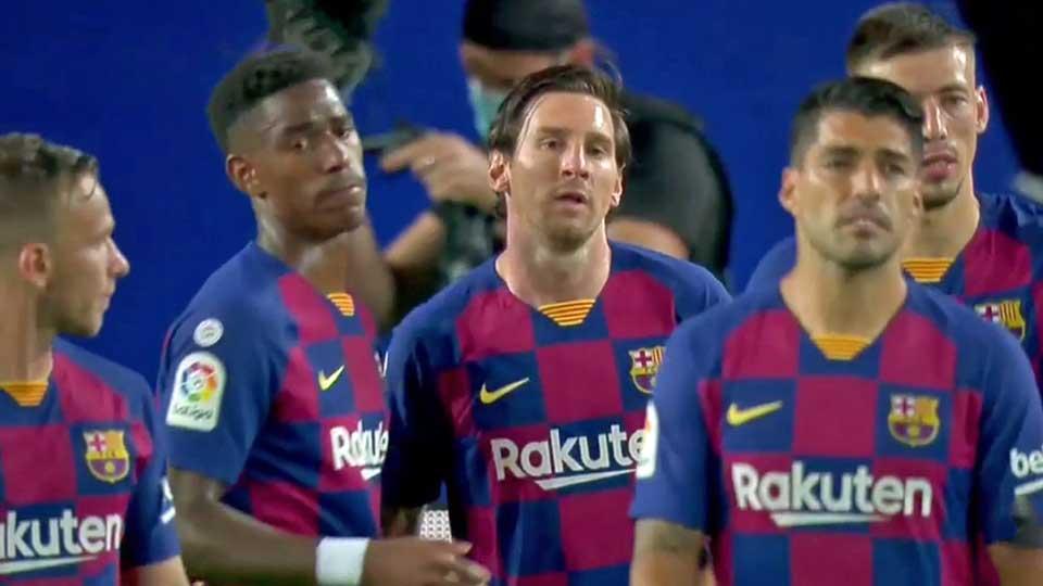 Liga : FC Barcelone 2 – FC Valence 2