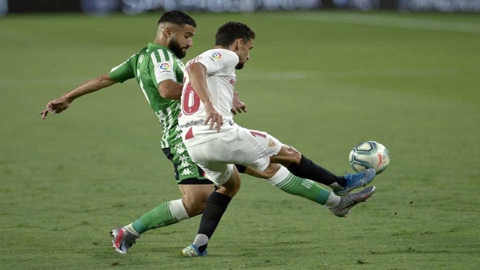 Liga : Le FC Séville bat Le Betis 2-0