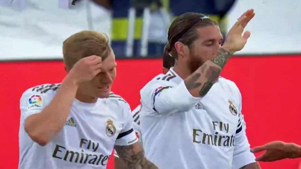 Liga : Real Madrid 3 – Eibar 1