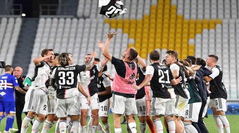 Serie A : La Juventus bat la Sampdoria 2-0 et valide son 36 e titre