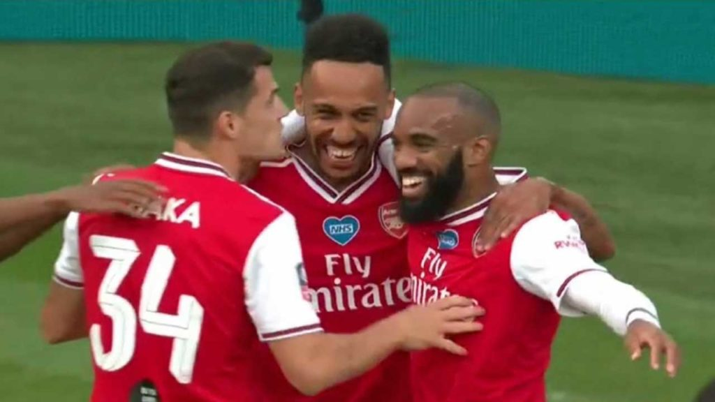FA Cup : Arsenal 2 – Manchester City 0