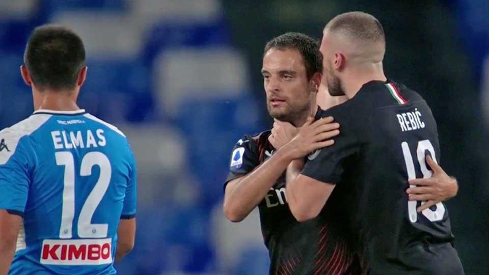 Calcio : Naples 2 – Milan AC 2