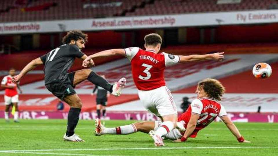 Angleterre : Arsenal 2 – Liverpool 1