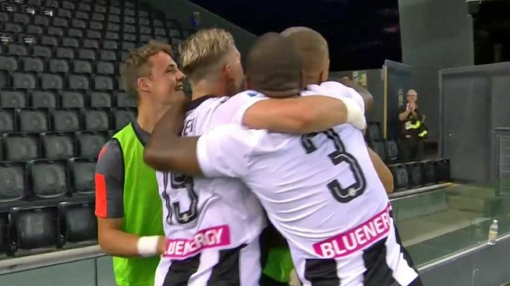Serie A : Udinese 2 – Juventus 1