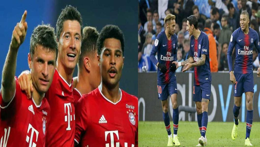 C1 : Paris SG – Bayern Munich (0-1)