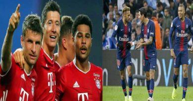 Finale C1 : PSG – Bayern , la composition d'équipes des deux formations