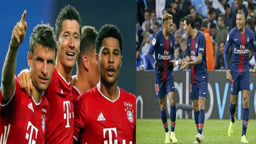 C1 : Paris SG – Bayern Munich (0-1)