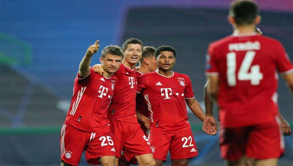 Bundesliga : Bayern Munich 8 – Schalke 0