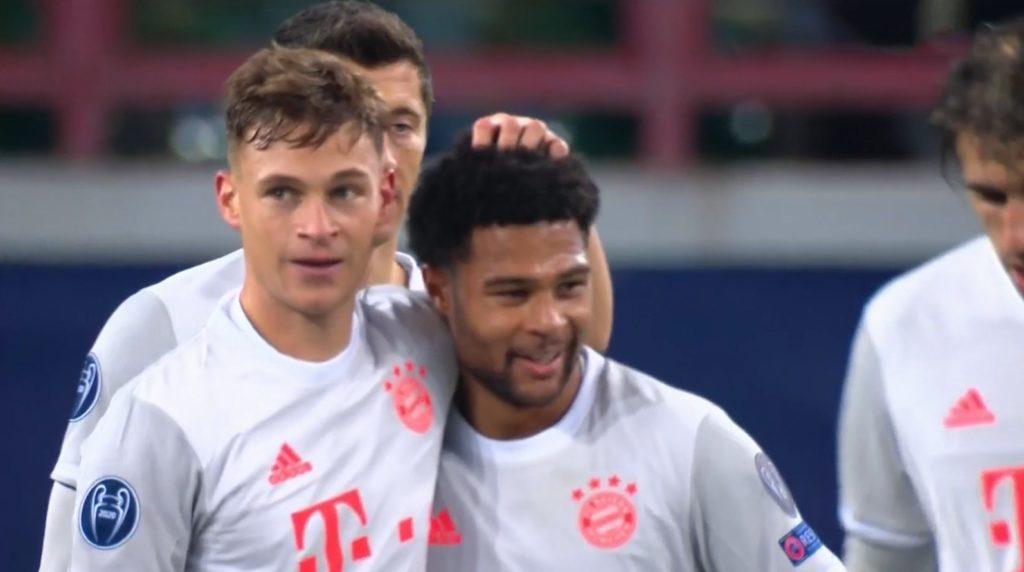 C1 : Lokomotiv Moscou 1 – Bayern Munich 2