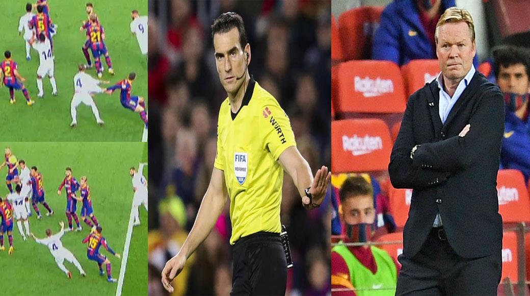 Liga : FC Barcelone – Real Madrid , l'arbitrage de M Munuera à l'index