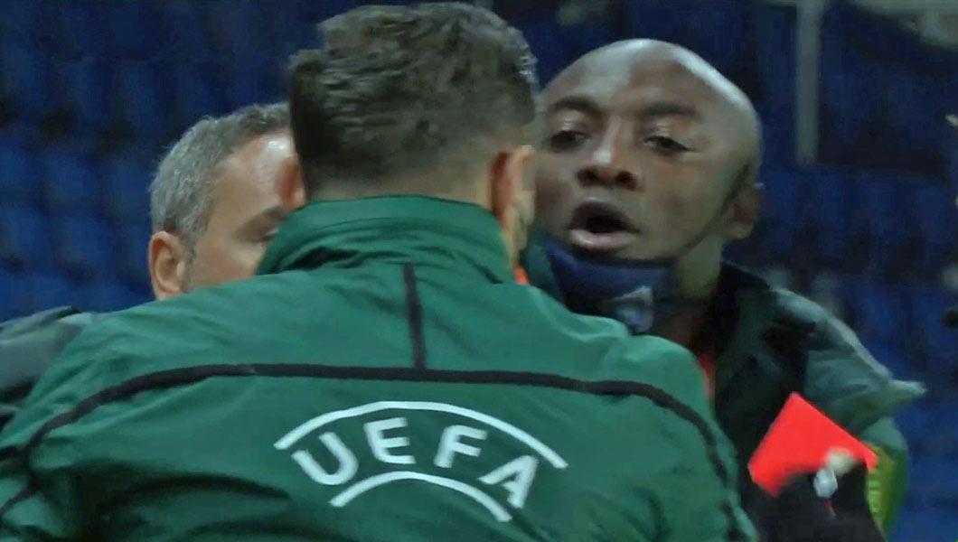 PSG – Basaksehir : Le dérapage verbal du 4e arbitre Roumain