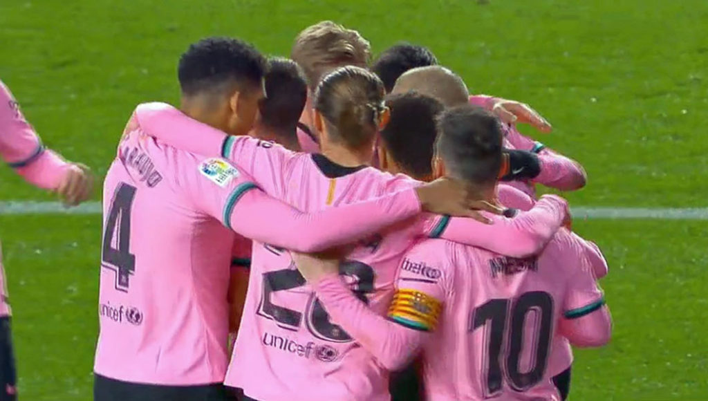 Espagne  : FC Barcelone – Alaves (5-1)