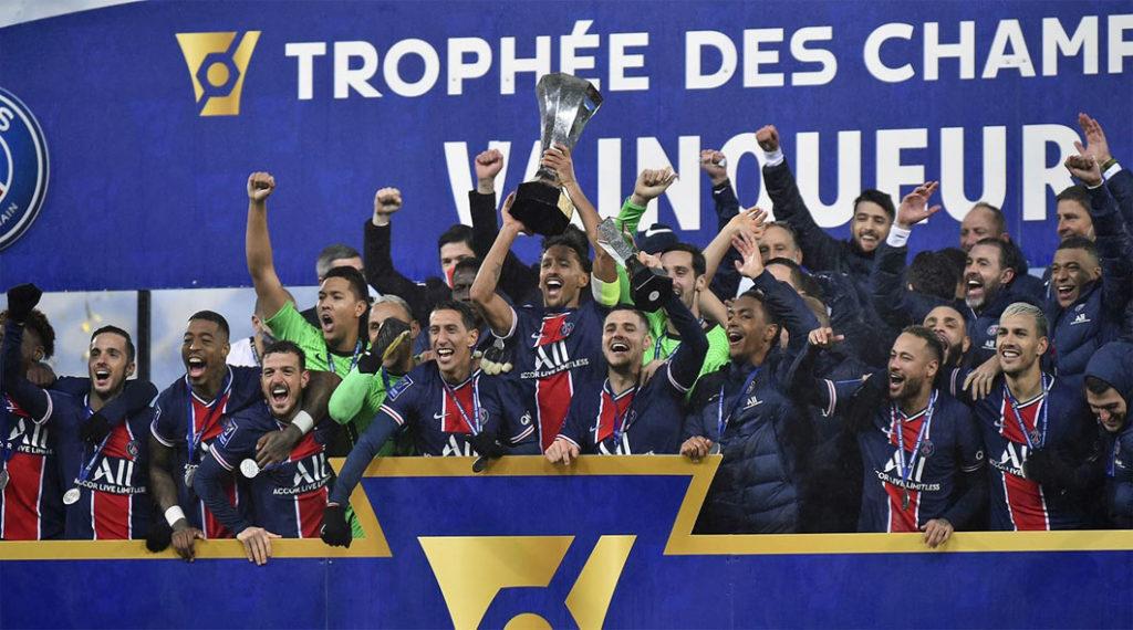 Trophée des Chammpions : PSG – OM (2-1)