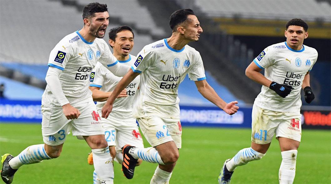 Ligue 1 : Marseille – Nice (3-2) , avec un doublé de Khaoui