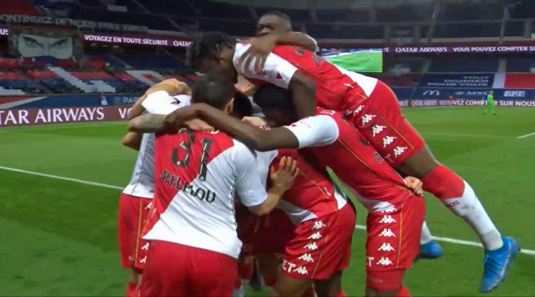 Ligue 1 : PSG – Monaco (0-2), Paris baisse la garde