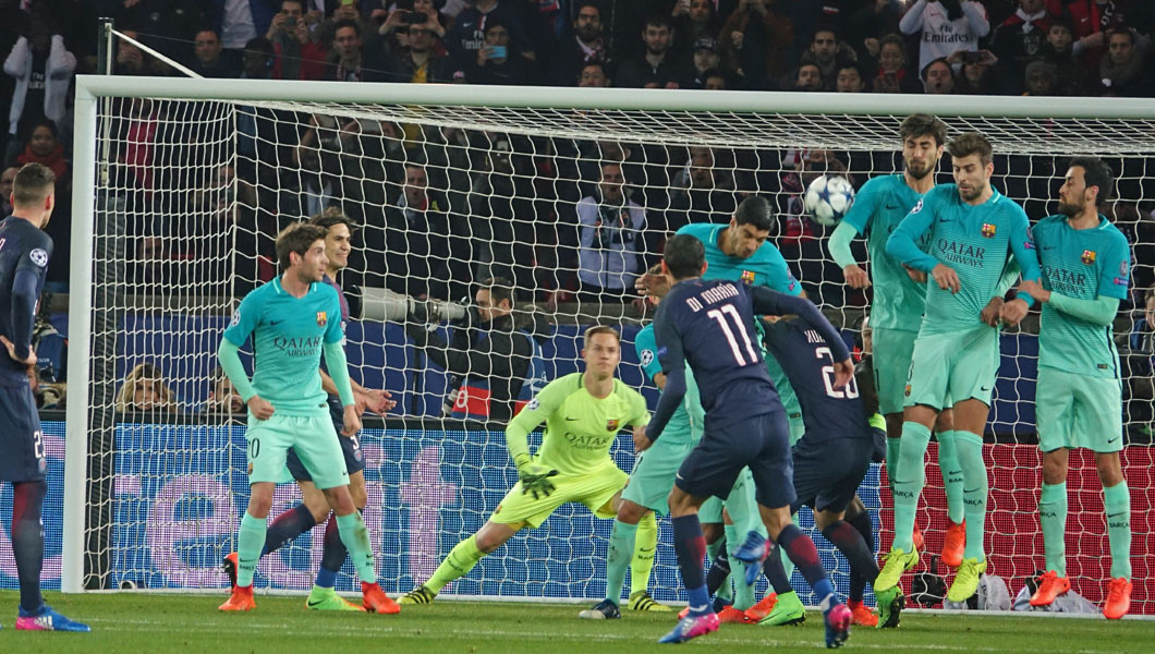 Ligue des Champions : FC Barcelone – Paris SG , la grande attraction des huitièmes