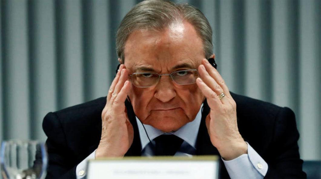 """Florentino Perez """" Le projet de la Super Ligue n'est pas mort malgré les retraits"""""""
