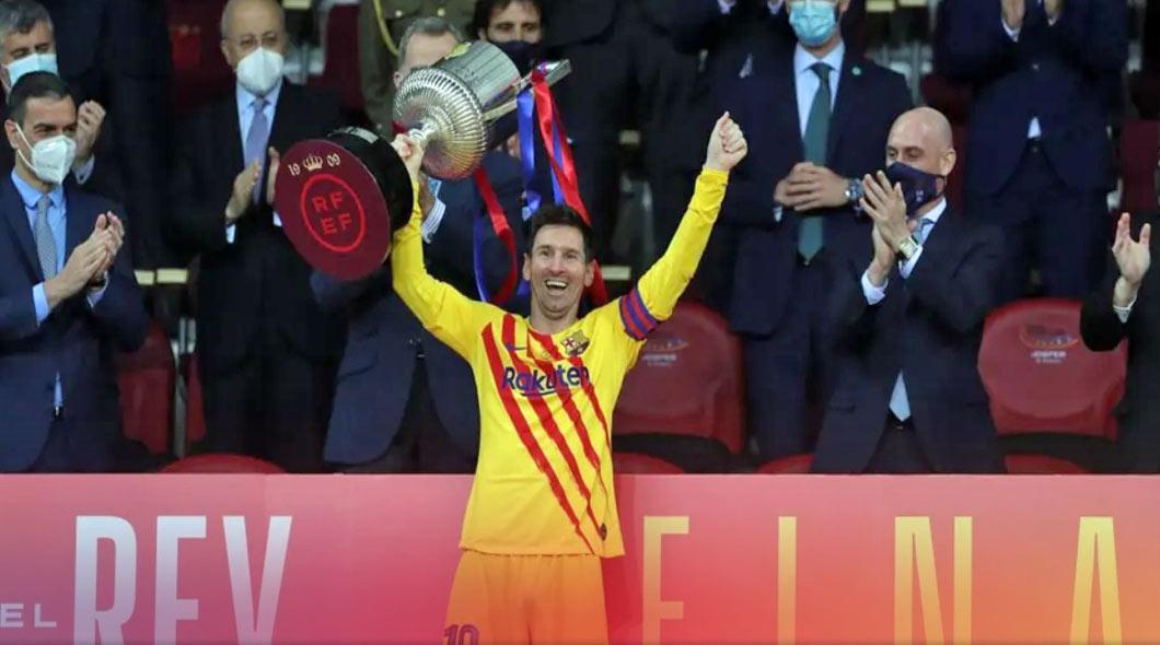 Coupe d'Espagne : Le FC Barcelone domine l'Athletic Bilbao (4-0) et remporte son 31e trophée